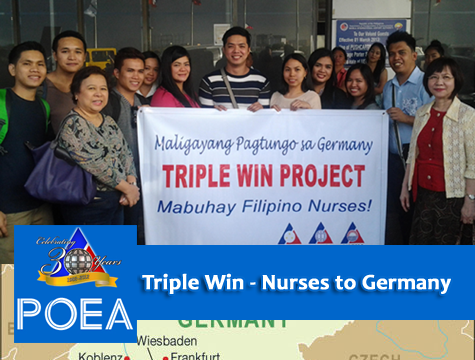 POEA: 300 nurses needed in Germany