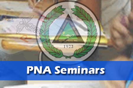 2016 PNA Seminars, Trainings schedule