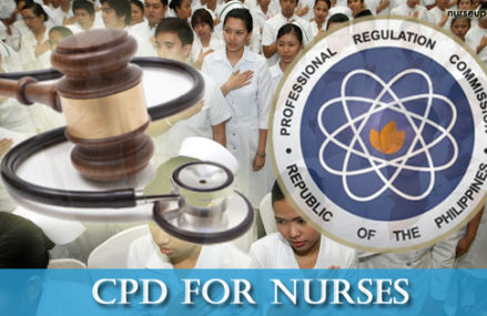 Nurses need 18 CPD units for PRC ID renewal starting July 2017