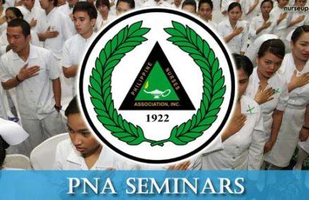 PNA Seminars for September – November 2017