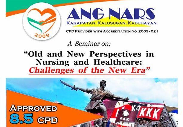 Ang Nars CPD Seminars