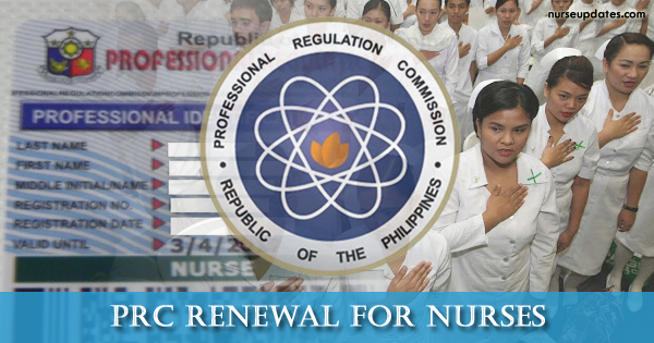 prc renewal nurses