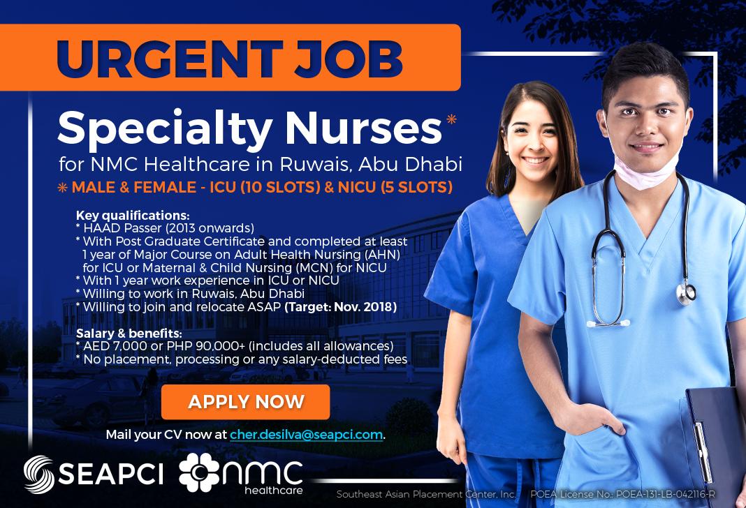 nmc healthcare hiring