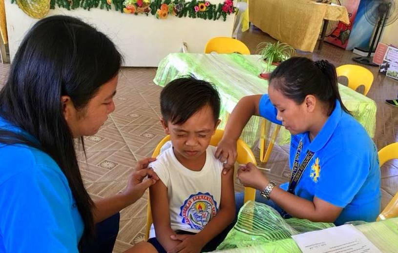 NDP anti-measles immunization